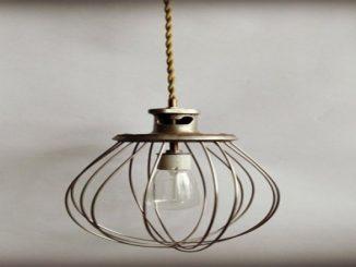 8 luminárias com Utensílios de Cozinha   Do Edu