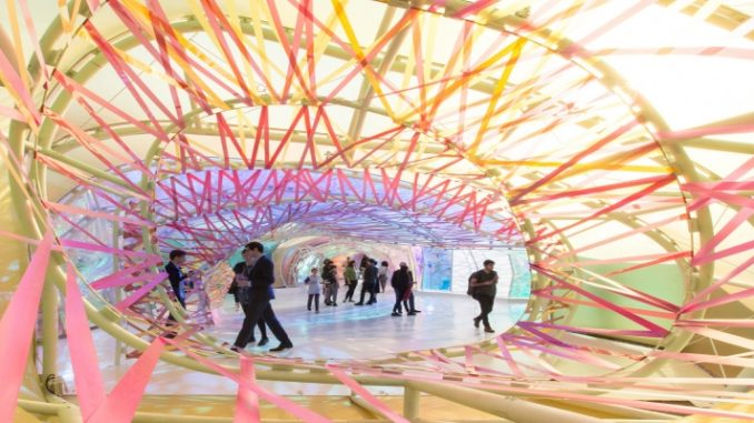 Conheça o Serpentine Gallery Pavilion 2015