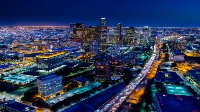 Fotógrafo captura cenas aéreas incríveis em Los Angeles