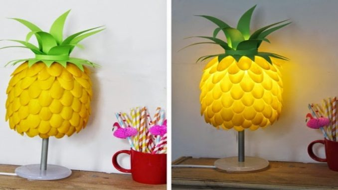 Luminária Tropical   Casa de Colorir