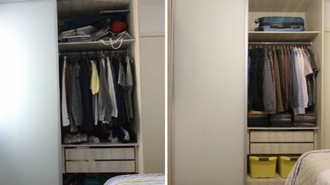 Organizar guarda roupa pequeno? Assista ao vídeo e veja dicas