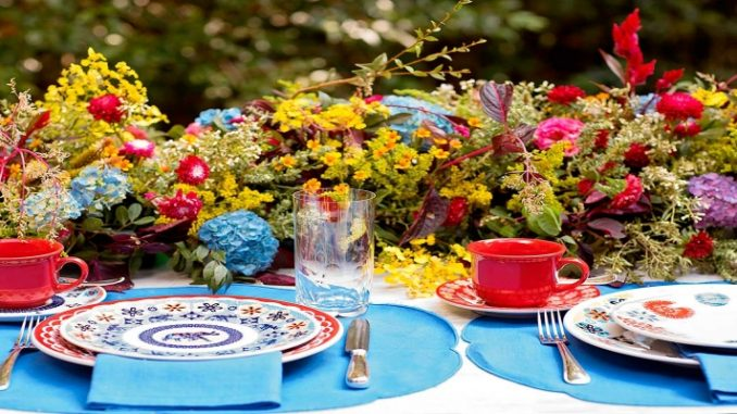Mesa de Café da Manhã Oxford Porcelanas