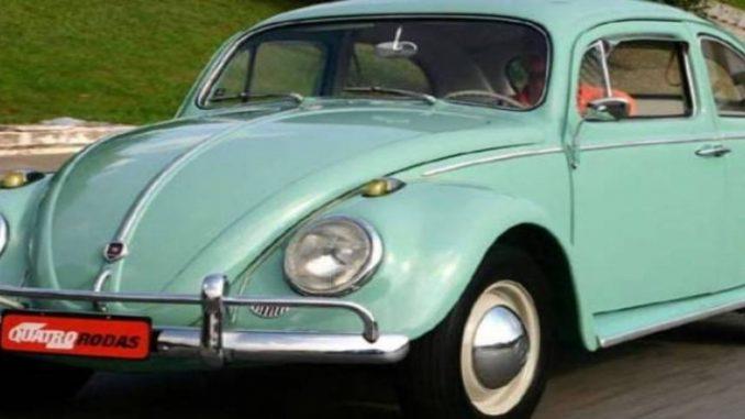 Volkswagen deixará de fabricar em 2019 seu famoso Fusca
