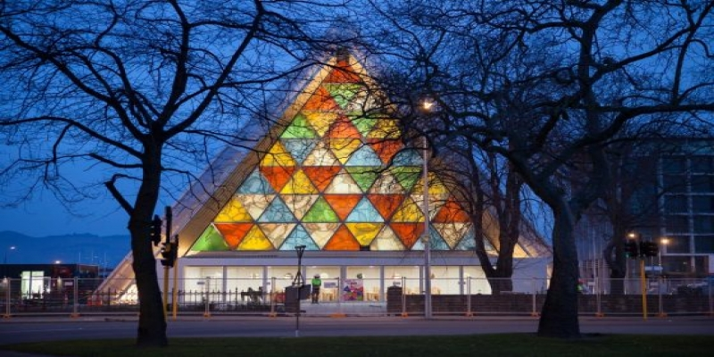 catedral shigeru ban blog da arquitetura