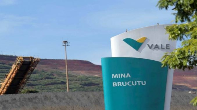 Estrutura de mina da Vale, em Minas Gerais, registra movimentação