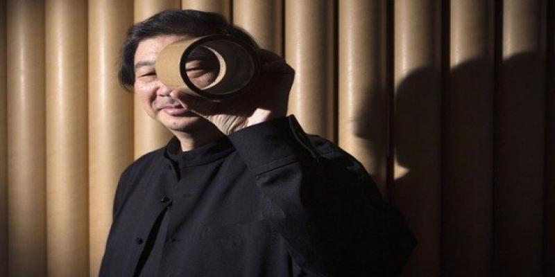 shigeru ban tubos de papel blog da arquitetura