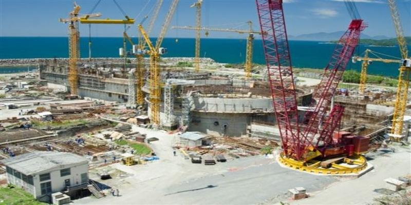 Angra 3 está em construção há mais de três décadas e é investigada pela Operação Lava Jato — Foto: Divulgação/Eletronuclear