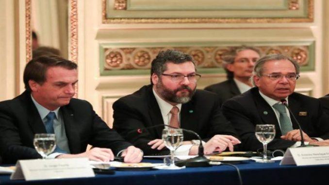 Araújo diz que acordo entre UE e Mercosul deve sair até o fim do mês