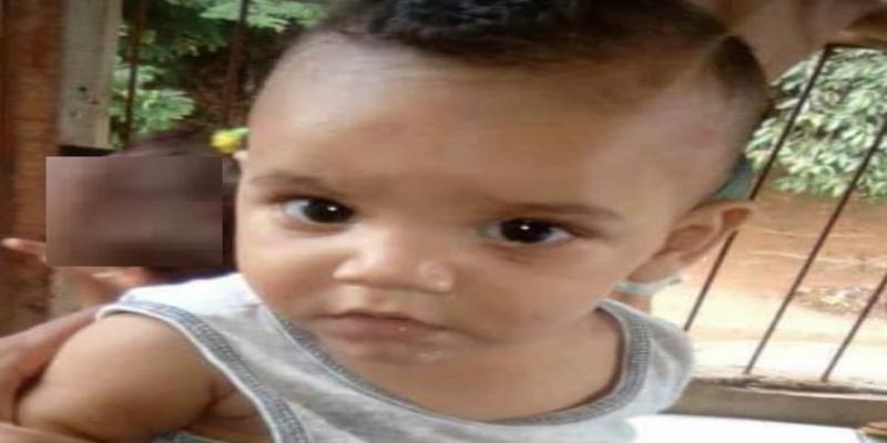 Bebê chegou ao hospital sem algumas unhas dos pés e das mãos em Conceição de Macabu após agressão, no RJ — Foto: Reprodução/Redes Sociais