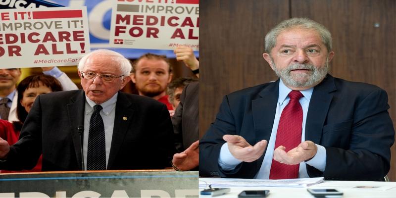 Bernie Sanders e Luiz Inácio Lula da Silva