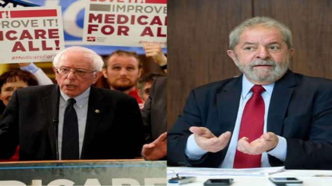 Bernie Sanders pede liberação imediata de Lula