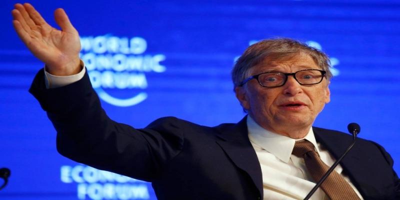 Bill Gates chamou Buffett de um dos homens mais pacientes com quem já conviveu — Foto: Ruben Sprich/Reuters
