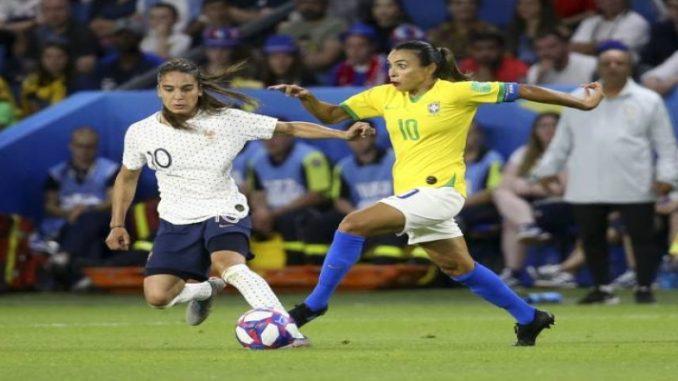 Brasil é eliminado da Copa feminina ao perder nas oitavas para a França