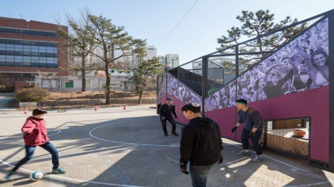 Escritório cria módulos para praticar esportes em pequenos espaços