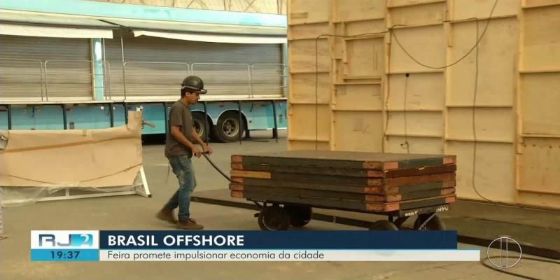 Feira Brasil Offshore promete impulsionar economia de Macaé, no RJ