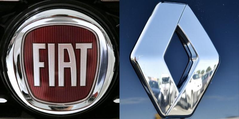 Fiat Chrysler apresenta proposta de fusão à Renault — Foto: Loic Venance/Marco Bertorello/AFP