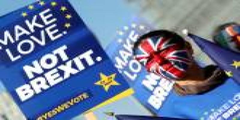 Manifestações contra o Brexit no Reino Unido