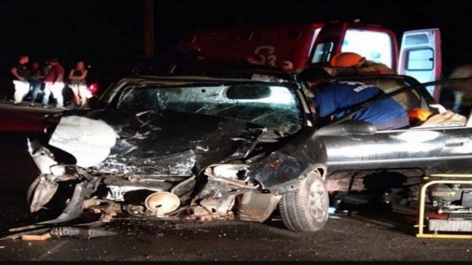 Mulher morre e três pessoas ficam feridas em acidente na BR 356, em São João da Barra, no RJ
