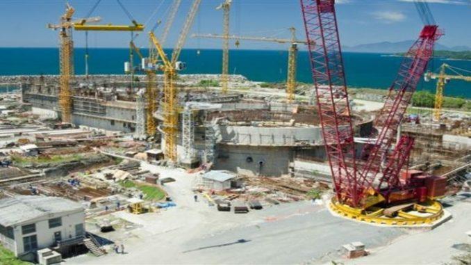 Obras de Angra 3 só serão retomadas em 2020, diz ministro de Minas e Energia
