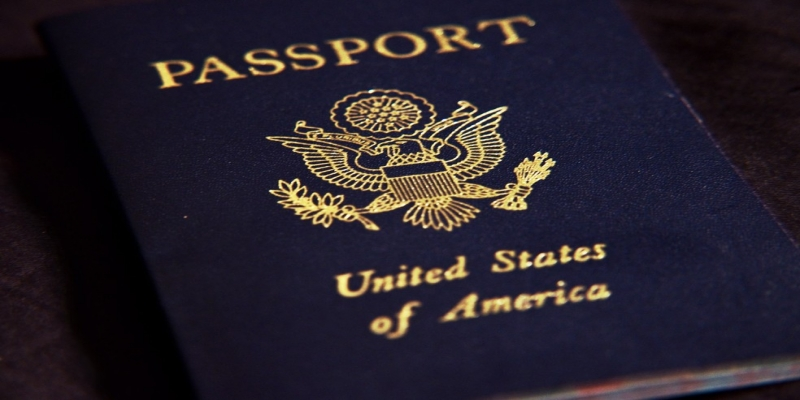 Passaporte americano — Foto: Swim Parallel/Creative Commons