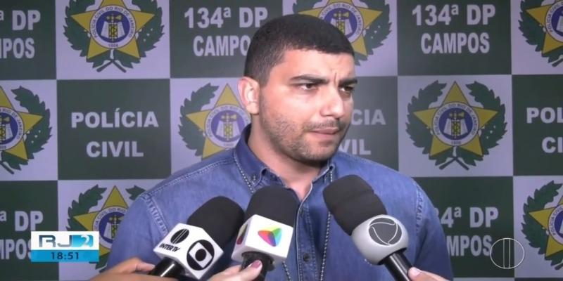 Polícia investiga outros crimes cometidos pelo homem preso em Campos, no RJ — Foto: Reprodução/Inter TV