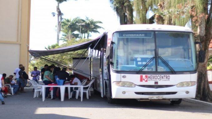 Unidade móvel do Hemocentro faz coleta de sangue nesta terça em Quissamã, no RJ