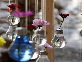 lâmpadas queimadas como decoração? Veja como fazer