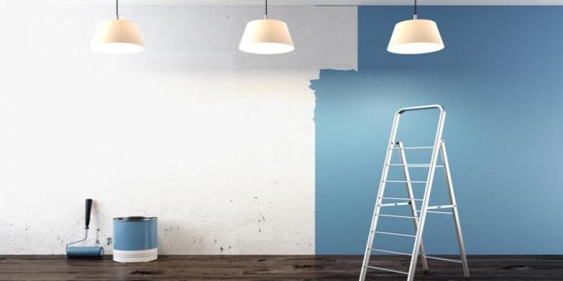 preparar a parede para receber a pintura