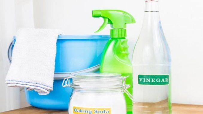 Vinagre é um poderoso aliado na limpeza da casa